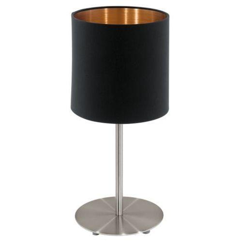 Lampa stołowa pasteri czarna/miedziana - 18 cm, 94917 marki Eglo