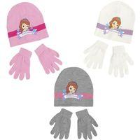 Suncity Komplet czapka jesienna / zimowa i rękawiczki jej wysokość zosia