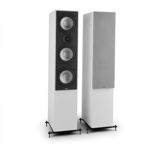 Reference 801 para 3-drożnych kolumn stojących białe ze srebrnymi osłonami marki Numan