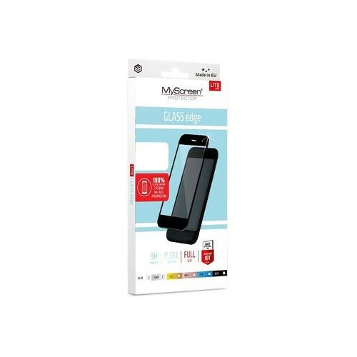 Szkło Hartowane MyScreen Full Glue Glass Edge iPhone XS Max czarny