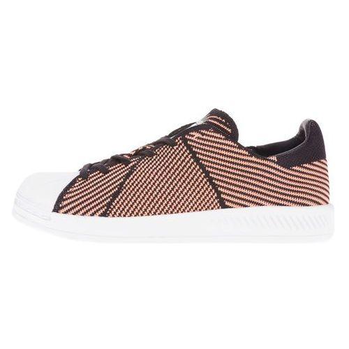 Adidas  originals superstar bounce primeknit tenisówki czarny różowy 36 2/3