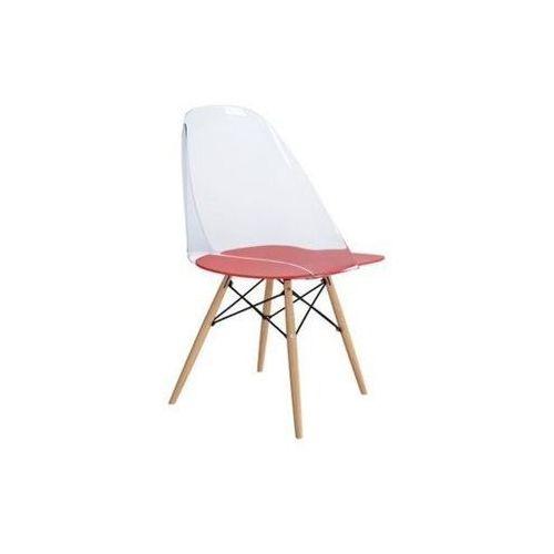 Krzesło aero red/clear marki D2