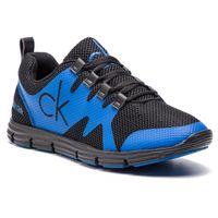 Sneakersy jeans - murphy se8525 black/infinity blue marki Calvin klein