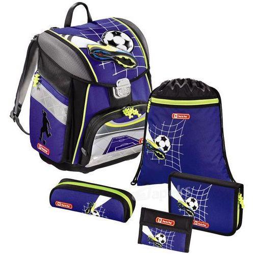 Step by step touch tornister szkolny zestaw 5-częściowy / top soccer - top soccer (4047443247568)
