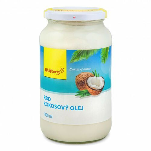 Wolfberry RBD Olej Kokosowy 1000 ml