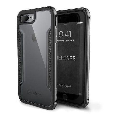 X-doria defense shield etui aluminiowe iphone 8 plus / 7 plus (space grey) (6950941449717)