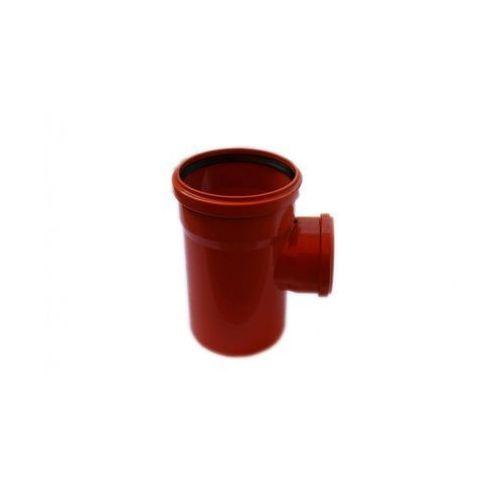Poliplast Trójnik kanalizacji zewnętrznej 160 x 110 mm/90°