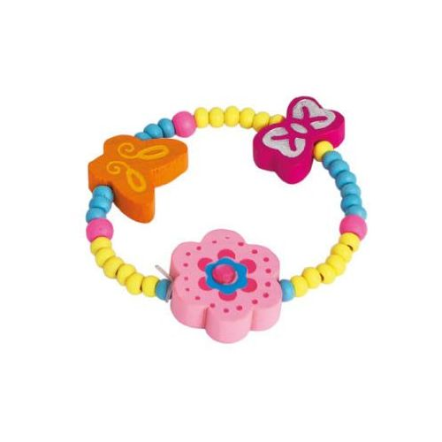 BINO Bransoletka z kwiatkiem, kolor róźowy - sprawdź w wybranym sklepie