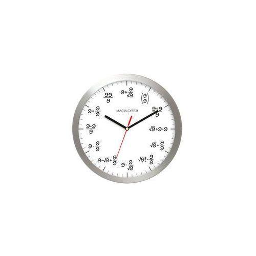Zegar aluminiowy matematyka #9, kolor Zegar