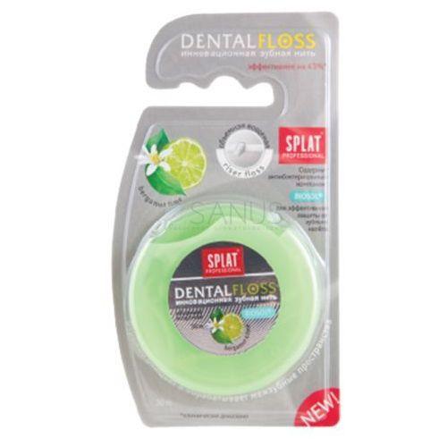 Splat BERGAMOTKA i LIMONKA 30m - nić dentystyczna pęczniejąca, woskowana (4603014001771)