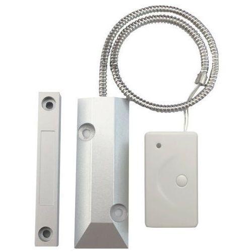 Erda electronic Bezprzewodowy magnetyczny czujnik otwarcia bramy garażowej ( kontaktron do bramy) e01cob