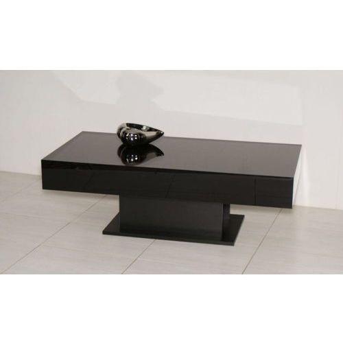 Mato design Stolik orido 120cm czarny wysoki połysk