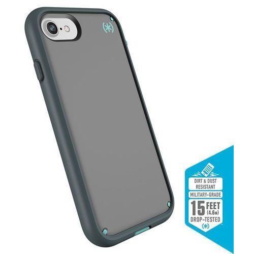 presidio ultra etui pancerne iphone 8 / 7 / 6s / 6 (sand grey/surf teal/mountainside grey) z uchwytem do paska & podstawka marki Speck