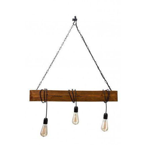 Lampa wisząca drewniana marlo - dąb satynowy marki Mabrillo