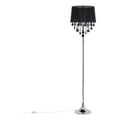 Lampa stojąca czarna EVANS