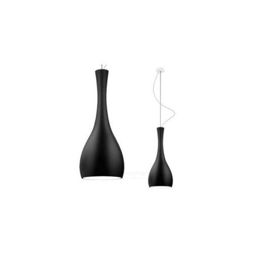 LAMPA wisząca ITTEKI 1/S/BLACK MATTE/OPAL Sotto Luce szklana OPRAWA łezka kropla łza ZWIS czarny matowy (1000000199567)