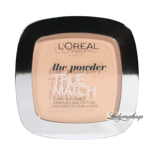 L´oréal paris true match puder 9 g dla kobiet c3 rose beige (3600520772028)