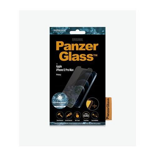 """Panzerglass apple for iphone 12 pro max tempered glass transparent privacy glass 6.7 """""""