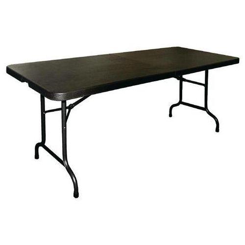 Stół składany czarny | 182,9x76,2x(H)73,5cm
