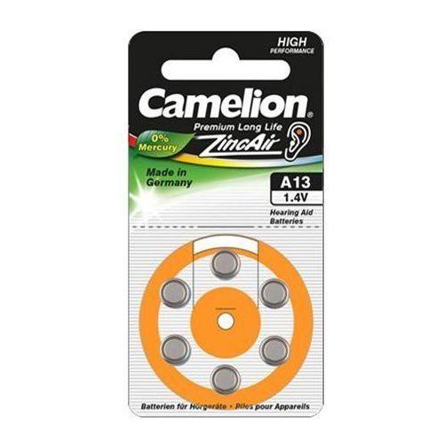 Camelion A13/DA13/ZL13, Zinc air cells, 6 pc(s) (4260030253975)