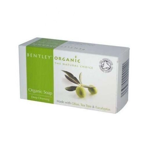 Głęboko Oczyszczające Mydło Organiczne - z Oliwką, Olejkiem Herbacianym i Eukaliptusem, BENTLEY ORGANIC, BEN374
