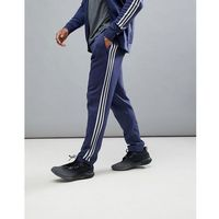 adidas Athletics Knitted Joggers In Navy CF2494 - Navy, kolor szary