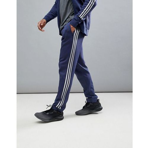 Adidas athletics knitted joggers in navy cf2494 - navy