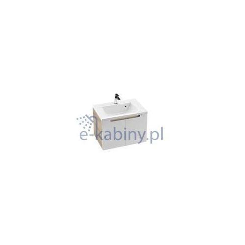 Ravak Szafka podumywalkowa SDD Classic 80 cm latte/biała połysk X000001095, kolor biały