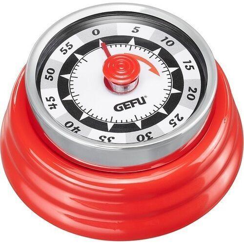 Minutnik z magnesem RETRO czerwony Gefu