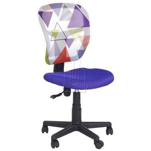 Fotel młodzieżowy Halmar Jump fioletowy - gwarancja bezpiecznych zakupów - WYSYŁKA 24H, 97585
