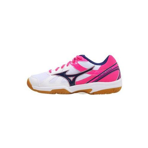 Mizuno buty halowe Cyclone Speed (W) Wht/Blueprint/PinkGlo 38.5/5.5 (5054698312926)