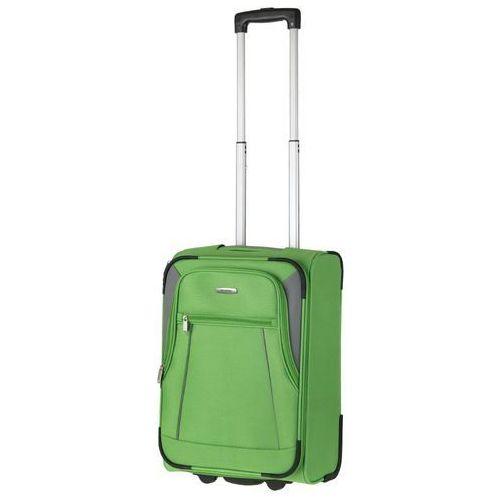 Travelite Walizka kabinowa portofino - zielony