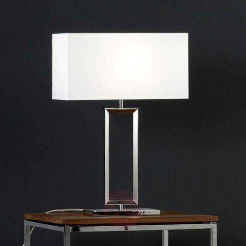 enna 2 lampa stołowa nikiel matowy, 1-punktowy - nowoczesny - obszar wewnętrzny - 2 - czas dostawy: od 4-8 dni roboczych marki Helestra