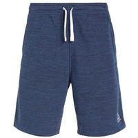 Reebok EL MARBLE GROUP Krótkie spodenki sportowe washed blue, bawełna
