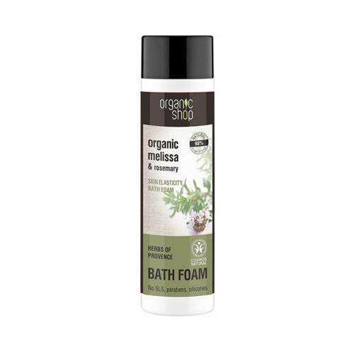 Eurobio lab Organic shop 500ml zioła z prowansji zwiększająca elastyczność skóry piana do kąpieli
