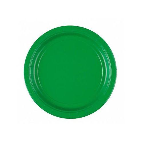 Amscan Talerzyki zielone - 18 cm - 8 szt. (0048419037651)