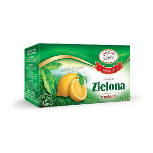 Herbata zielona o smaku cytrynowym EX'20 Malwa, 5902781000475