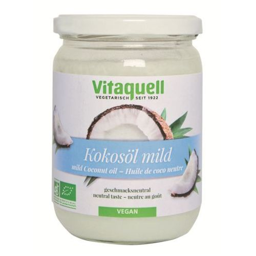Olej kokosowy bezwonny BIO 400g - Vitaquell, 4003247101871