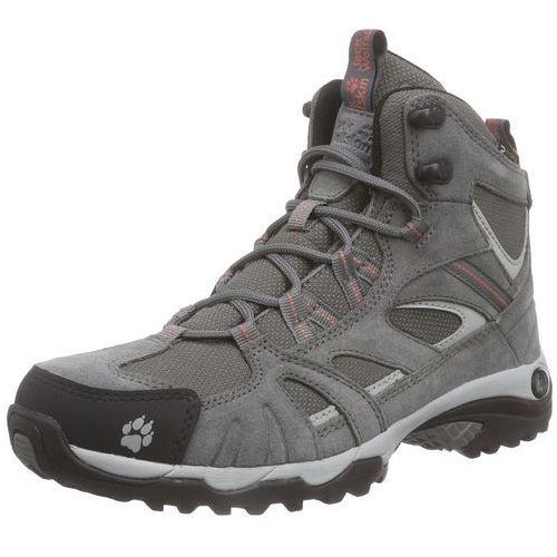 Jack wolfskin vojo hike mid texapore buty kobiety szary 37,5 buty turystyczne