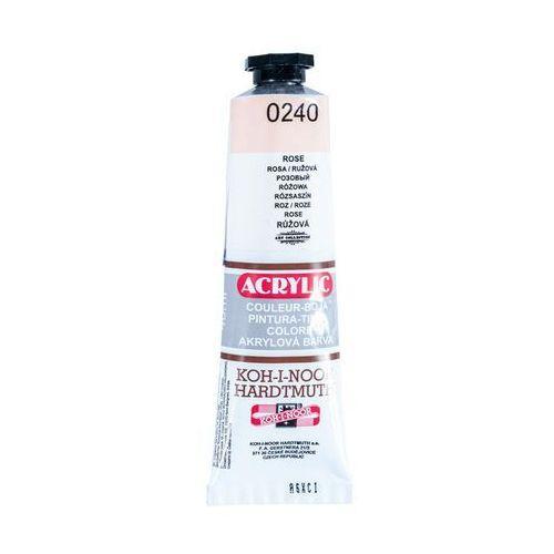 Koh i noor Farba akryl Acrylic 240 Różowy 40ml (8593540014436)