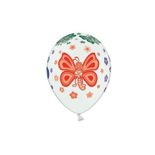 Balony lateksowe Motylki - 37 cm - 5 szt.