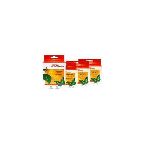 Tusze zamienniki Vanke do Epson T3471-T3474XL (komplet 4 szt, 72 ml.), C13T34764010