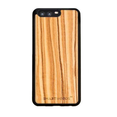 Smart woods Etui smartwoods - oliwka huawei p10