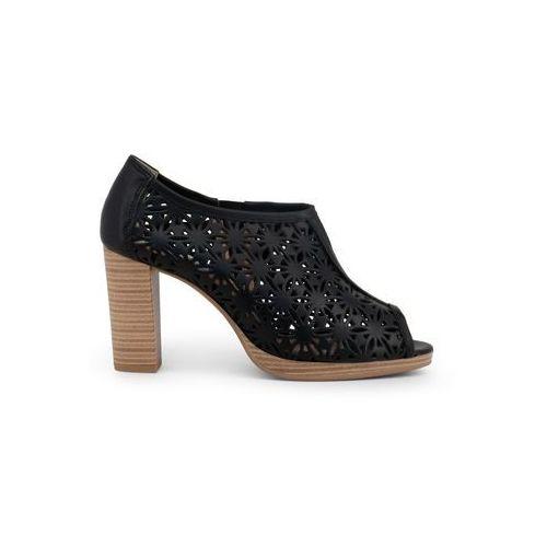 Buty za kostkę botki damskie ARNALDO TOSCANI - 7104K208-48, kolor czarny