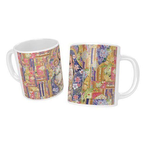 Kubek ceramiczny z matką bożą marki Produkt polski