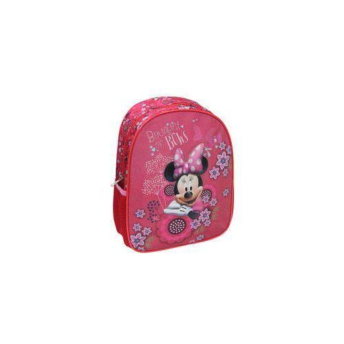 Plecak dziecięcy różowy 3d minnie - marki Eurocom