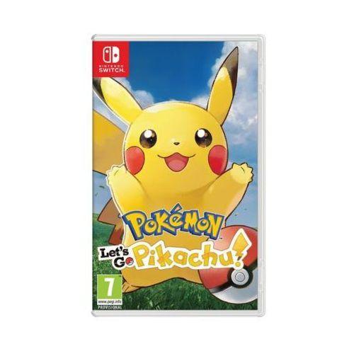 Pokemon: Let's Go Pikachu! Gra NINTENDO SWITCH