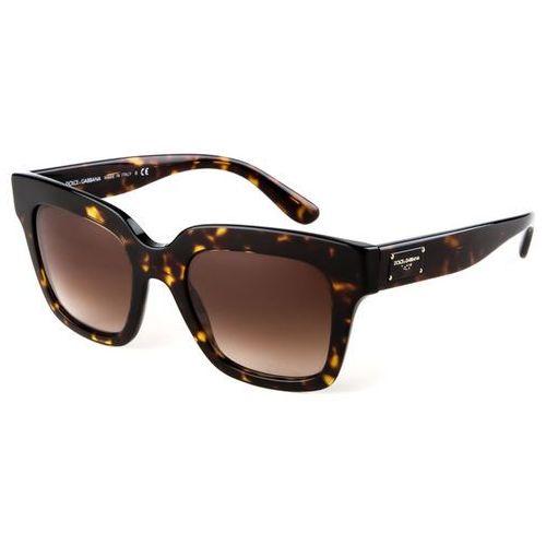 Okulary Słoneczne Dolce & Gabbana DG4286 502/13, kolor żółty