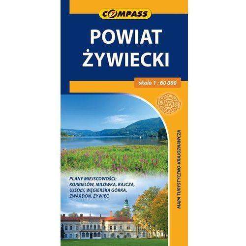 Powiat Żywiecki. Mapa turystyczno-krajoznawcza w skali 1:60 000 - Praca zbiorowa (2017)
