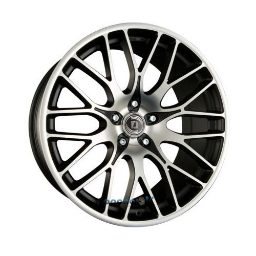 Diewe wheels fina nero machined - schwarz matt frontpoliert einteilig 8.50 x 19 et 42